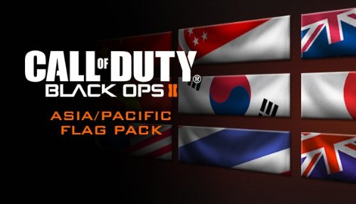 Call of Duty: Black Ops II - Asian Flags of the World Calling Card Pack [Online Game Code]