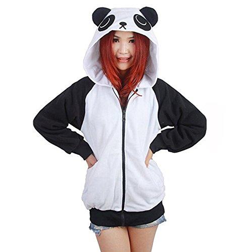 Panda Costumes Cartoon - Cartoon Cosplay Costume Unisex Adult Hoodie