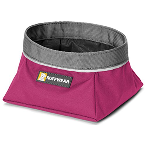 RUFFWEAR - Quencher Waterproof, Collapsible Dog Bowl, Purple Dusk, Small