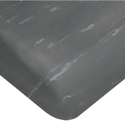 Wearwell Smart Tile Top UltraSoft Anti-Fatigue Mat, Full Roll, 4' x 60' x 7/8 inch Thick, Charcoal