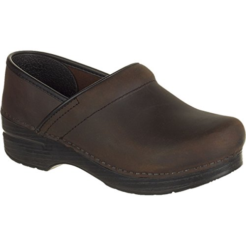 Dansko Women's Professional Mule,Antique Brown/Black,41 EU/10.5-11 M US ()