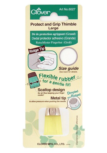 Clover Thimble (Clover 6027 Protect and Grip Thimble)