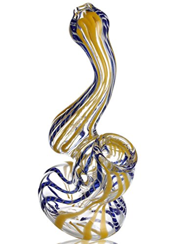 "PUFF LABS | 4.5"" Bubbler With One Screen"