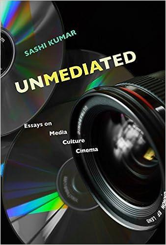 buy unmediated essays on media culture cinema book online at  buy unmediated essays on media culture cinema book online at low prices in unmediated essays on media culture cinema reviews ratings