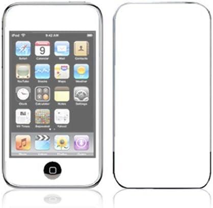 Amazon | Apple iPod touch 第2世代 第3世代 スキンシール [IT2-CP14 White 白] | DecalSkin |  ポータブルオーディオ