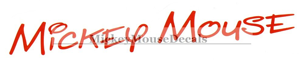 9 inch minnie mouse autograph signature text for Product key decor8