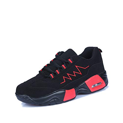 Liuxc Turnschuhe Laufende Luftkissenschuhe der männlichen männlichen Schuhe des männlichen Mannes der warmen Paare des Winters warme zufällige Schuhe