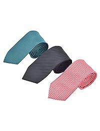 Kit de 3 Corbatas con Colores Combinados