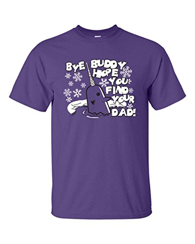 Jacted Up Tees Bye Buddy Hope You Find Your Dad Men's T-Shirt SHIPS FROM OHIO USA