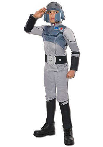 [Rubie's Costume Star Wars Rebels Agent Kallus Deluxe Child Costume, Medium] (Rebel Star Wars Costume)