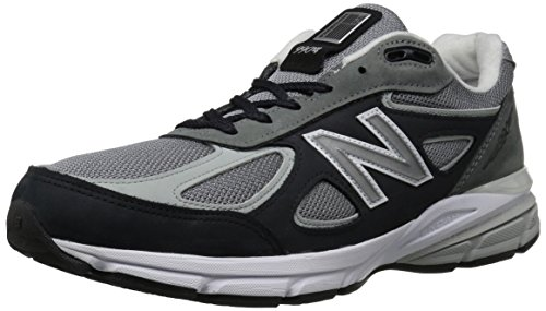 New Balance Men's 990v4, Grey, 8.5 D US -  M990XG4