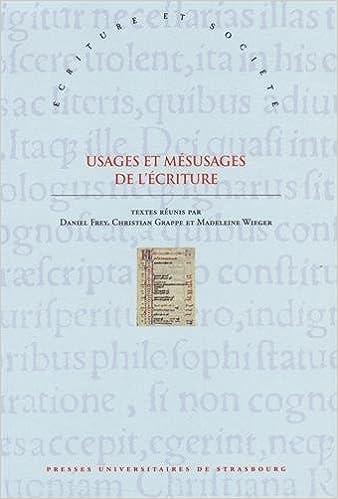 Lire en ligne Usages et mésusages de l'Ecriture : Approches interdisciplinaires de la référence scripturaire epub, pdf