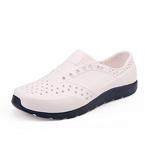 da Zoccoli da spiaggia Color piccolo uomo Dimensione EU Bianca da 2018 Rosso con Mens sandalo shoes su cava scarpe 42 n7FOOxpE8