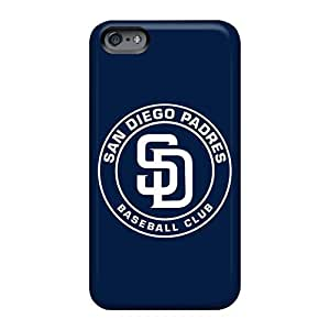 Scratch Resistant Hard Phone Cover For Apple Iphone 6 Plus (FpV2HTOy) Unique Design Attractive San Diego Padres Series