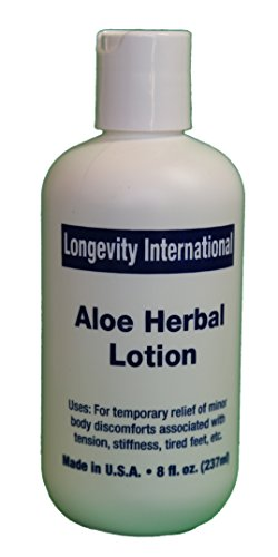 Analgesic Aloe Herbal Pain Relief Lotion 8 oz ( 240 ml )- as Effective as TENS for Lower Back Pain