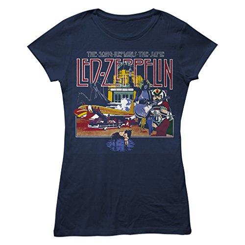 Ladies Led Zeppelin The Song Remains The Same officiel Femmes Dames T-shirt