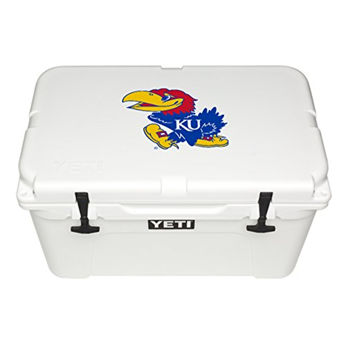 YETI Officially Licensed Collegiate Series Tundra 45 Cooler, (Kansas Tailgate Cooler)