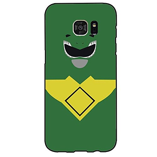 Green Warriors Design Power Rangers Phone Case Cover for Samsung Galaxy S7 Edge Power Rangers New Style