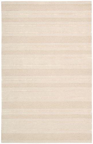 Nourison Calvin Klein Home Sahara Collection Balsa Lines 3.6-Feet by 5.6-Feet Wool-Blend Area Rug