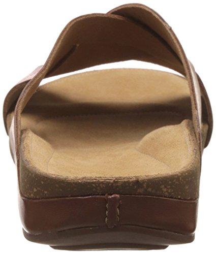 Clarks Perri Cove - Dark Tan Leather