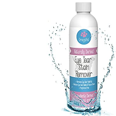 * Happy Eyes * Tear Stain Remover For Dogs Eyes - The Fastest Natural & Safe Remedy To Unsightly Tear Stains - Fragrance Free - High Quailty Formula Loved by Maltese, Shih Tzu, Poodle, & Chihuahua Dog Grooming Pros - Alternative to Angel Eyes