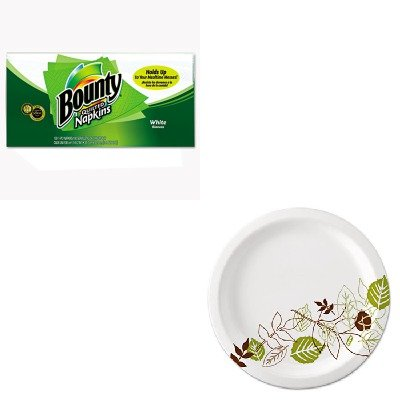KITDXEUX9WSPKPAG34884 - Value Kit - Procter amp; Gamble Professional Quilted Napkins (PAG34884) and Dixie Pathways Mediumweight Paper Plates (DXEUX9WSPK)