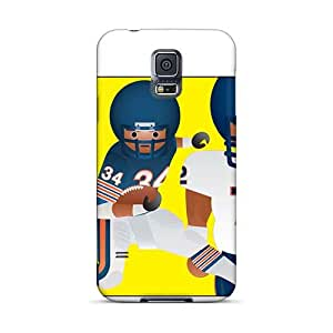 Bumper Hard Cell-phone Case For Samsung Galaxy S5 (dNG29660njUv) Support Personal Customs High-definition Chicago Bears Pictures