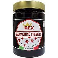 REX Gourmet Cocktail Maraschino Cherries, 14.1 Ounce