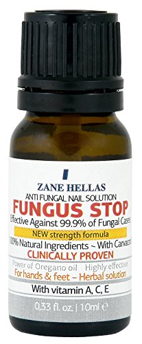 Fungus Stop. Effective against 99.9% of nail fungus.Anti fungal Nail Solution. Toenails & Fingernails Solution. 0.33 oz - 10 ml .