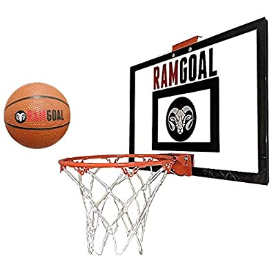 RAMgoal Mini Basketball Hoop Door Mounted: Toys & Games