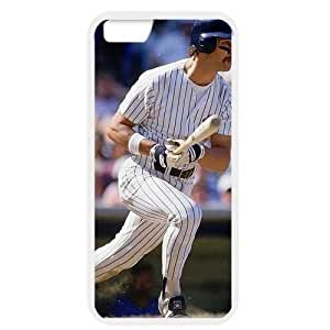 MLB iPhone 6 White New York Yankees cell phone cases&Gift Holiday&Christmas Gifts NBGH6C9125086