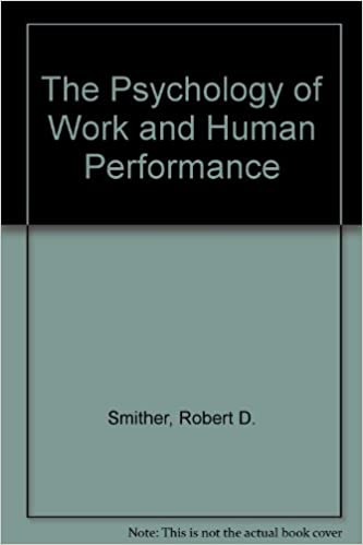 Book The Psychology of Work and Human Performance