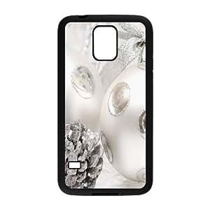 Samsung Galaxy S5 Cell Phone Case Black Silver Decoration JNR2084657