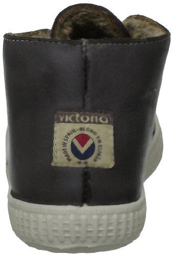 Victoria Safari Piel Tintada Pelo Kids - Zapatillas de Deporte de cuero Infantil marrón - marrón