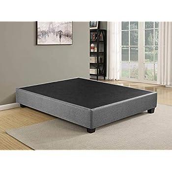 Amazon Com Spring Sleep Platform Bed For Mattres King