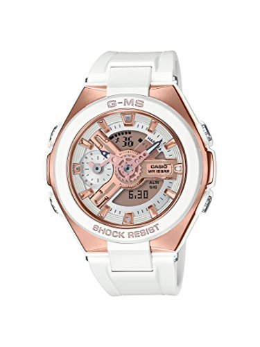 Casio MSG400G-7A Baby G Women's Watch White 45.6mm Resin