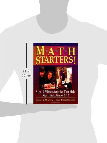 Amazon.com: Math Starters!: 5- To 10-Minute Activities That Make ...