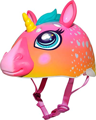 - Raskullz Kids' C-Preme Super Rainbow Corn Helmet, Pink, One Size