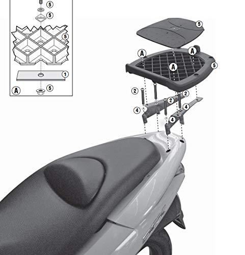 /Attacco posteriore specifico per bauletto mono chiave o mono lucchetto GIVI/ mod SR4114