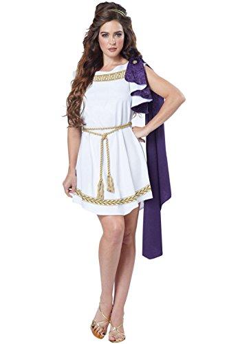 Grecian Greek Goddess Roman Toga Dress Adult Costume