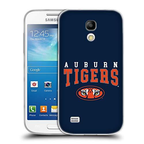 Official Auburn University AU Auburn Tigers Soft Gel Case Compatible for Samsung Galaxy S4 Mini I9190 (Samsung S4 Auburn Case)