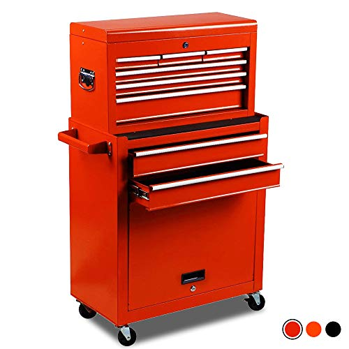 High Capacity 8Drawer Rolling