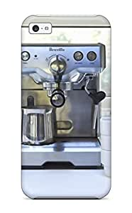 Espresso Maker In Kitchen With Glass Mosaic Tile Walls Durable Iphone 5c Tpu Flexible Soft Case