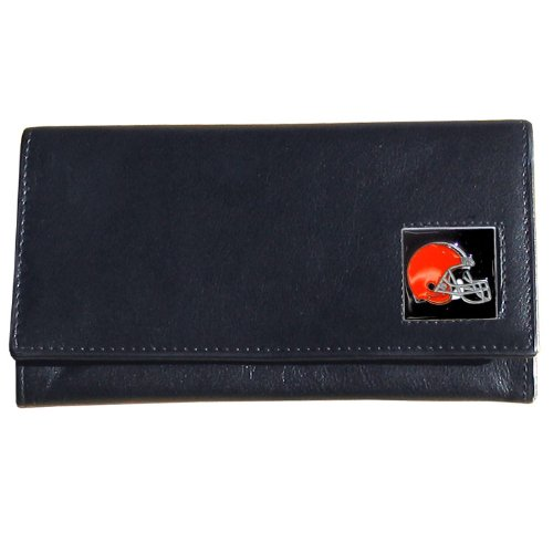 Cleveland Browns Nfl Leather - NFL Cleveland Browns Women's Leather Wallet