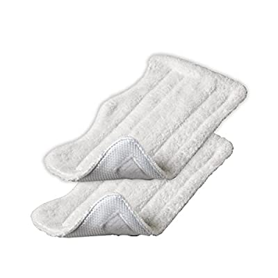 Generic 2pcs Euro Pro Shark Steam Mop Replacement Microfiber Pads S3250 S3101 (set of 2)