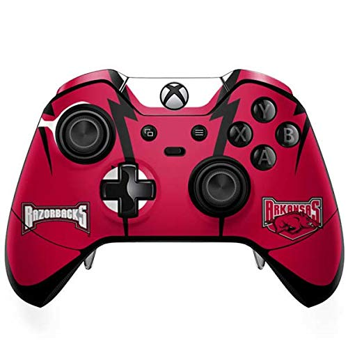 Skinit Arkansas Razorbacks Xbox One Elite Controller Skin - Officially Licensed College Gaming Decal - Ultra Thin, Lightweight Vinyl Decal Protection