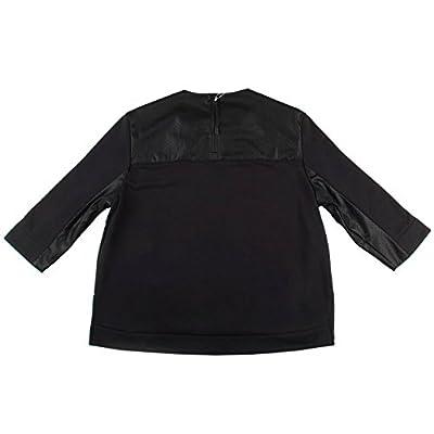 Nike Womens WMNS NSW Perforated Long Sleeve Sweatshirt Black/White 749122-010