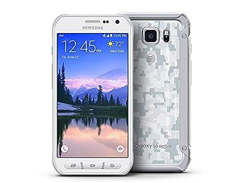 Samsung Galaxy S6 Active G890A 32GB Unlocked GSM 4G LTE Octa-Core Smartphone w/ 16MP Camera - White (Unlocked Samsung S6)