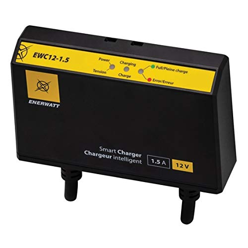 12V 1.5A Fully Automatic Onboard Battery Charger ENERWATT 12-15A