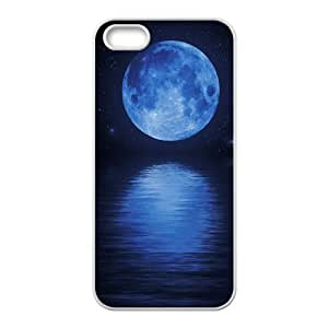 ZK-SXH - Sun and Moon Brand New Durable Cover Case Cover for iPhone 5,5G,5S, Sun and Moon Cheap Cover Case